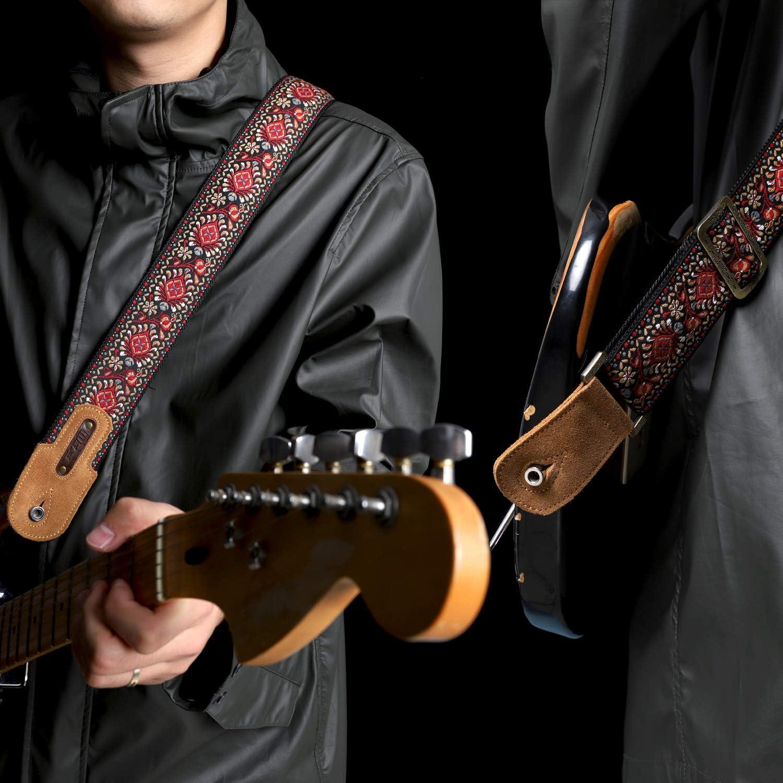 INTERESTPRINT Boys Retro Guitar with Music ComfortSoft Printed Boxer Briefs 5T-2XL