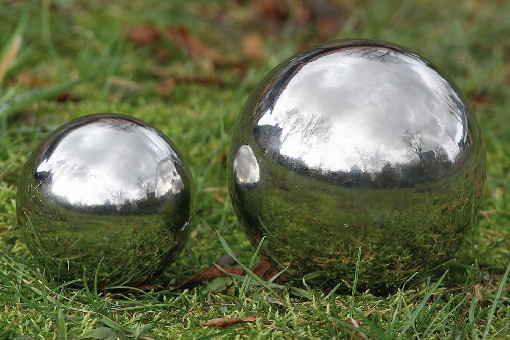 Stainless Steel Mirror Sphere 13cm