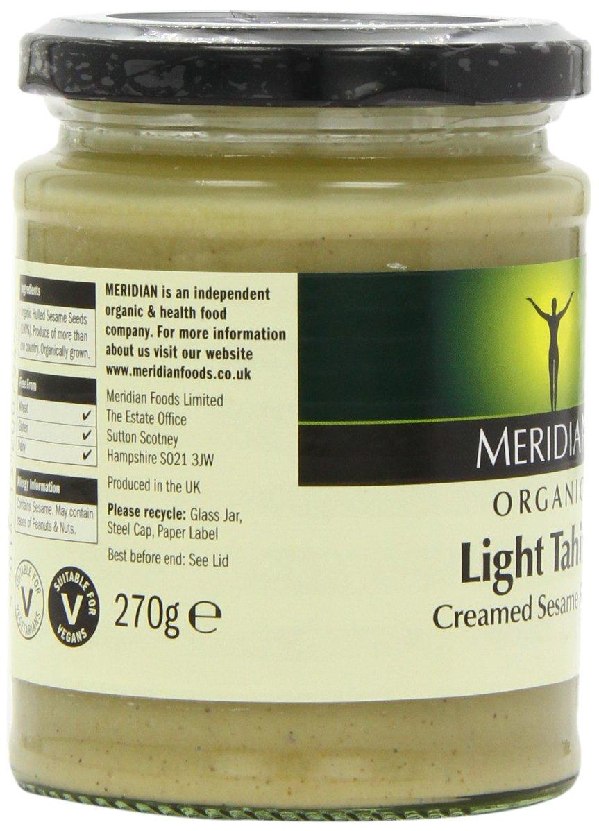 Meridian - Organic Light Tahini - 270g: Amazon.es: Alimentación y bebidas