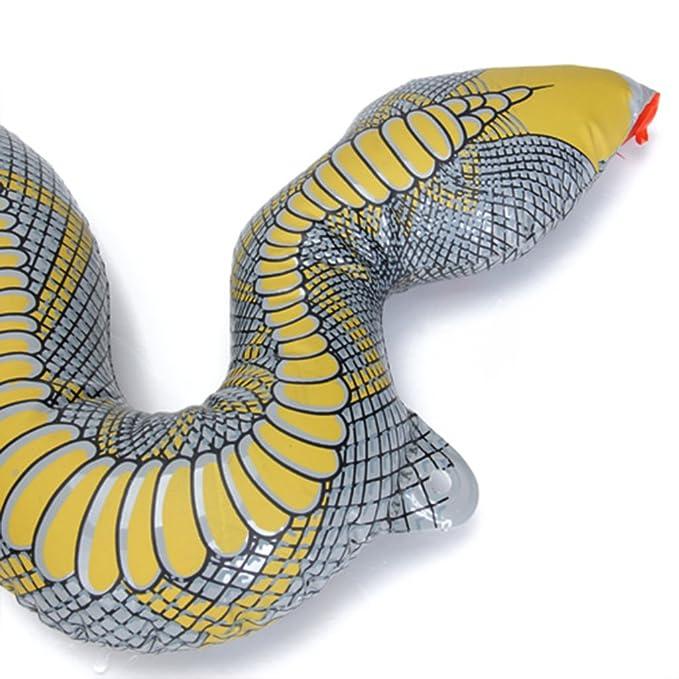 Inflable Serpiente Juguete de Broma: Amazon.es: Juguetes y ...
