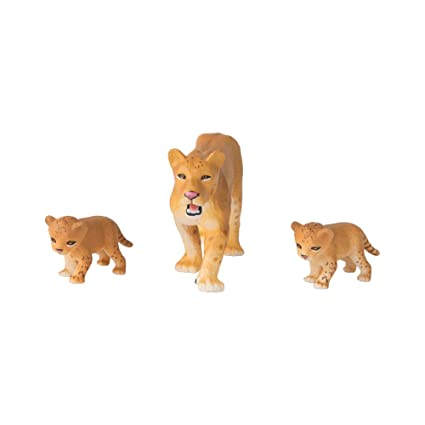 82eed685e6cb1 ANIA Animal Pack, Lioness With Cubs: Amazon.in: Toys & Games