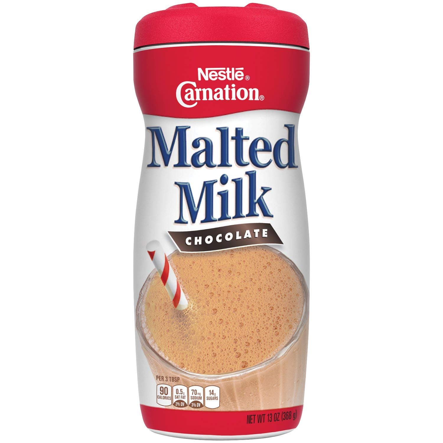 Carnation Chocolate Malted Milk Mix (2 PACKS)