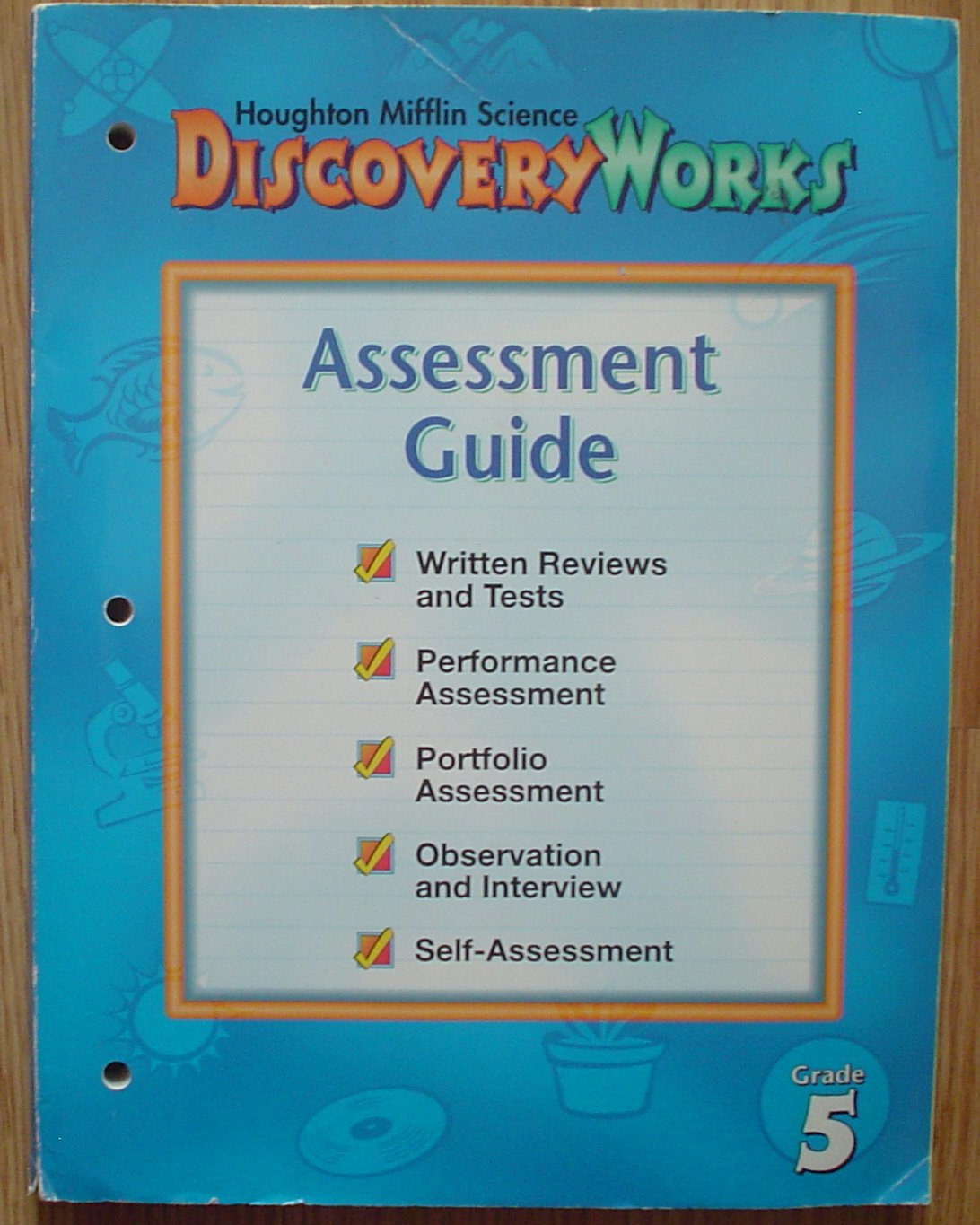 Download Houghton Mifflin Science DISCOVERY WORKS Grade 5 ASSESSMENT GUIDE pdf epub