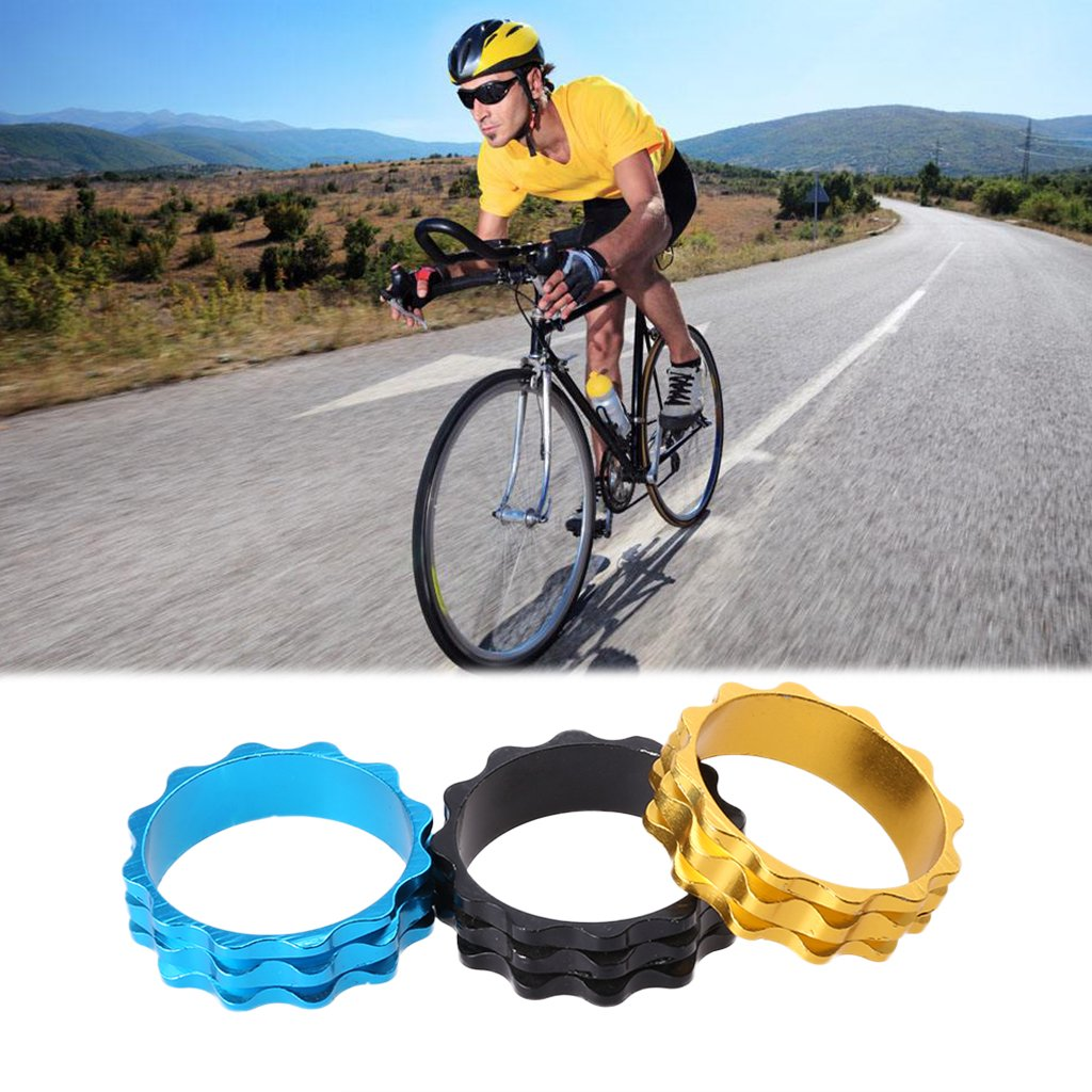 aluminium alloy road   stem accessory bicycle cycling headset top cap cover JH