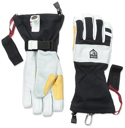 Ski- & Snowboard-Handschuhe Skisport & Snowboarding Hestra Heli Ski Outdry leather waterproof breathable merino gloves New