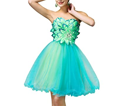 AUUOCC Cocktail Dresses 2018 Luxury Green Summer Sleeveless Cheap Cocktail Mini Party Graduation Gown Coctail Dress
