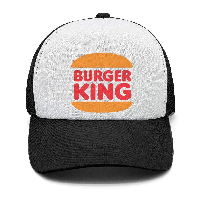 Adjustable Visor Cap Mens Pattern Baseball Hats Burger-King-Logo