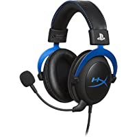 HyperX Cloud Official Playstation Licensed Over-Ear 3.5mm Wired Gaming Headphone for PS4