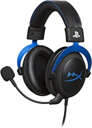 HyperX Gaming Headset Cloud Blue - Oficialmente licensiado para PS4