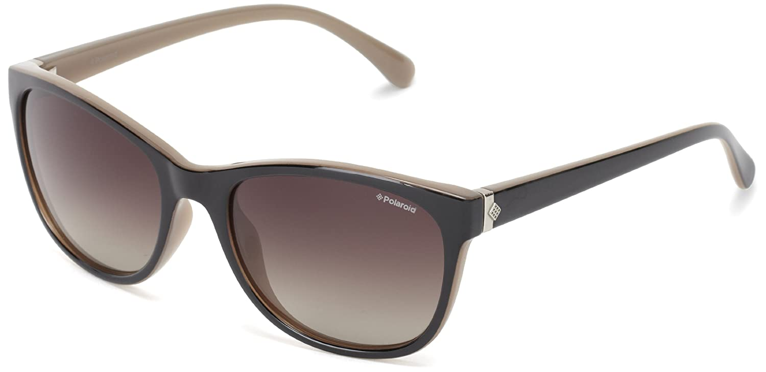 b5bcdb6889 Polaroid women s P8339 Round Sunglasses  Amazon.co.uk  Clothing