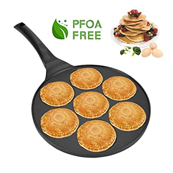 FRUITEAM 10 Inch Nonstick Pancake Griddle