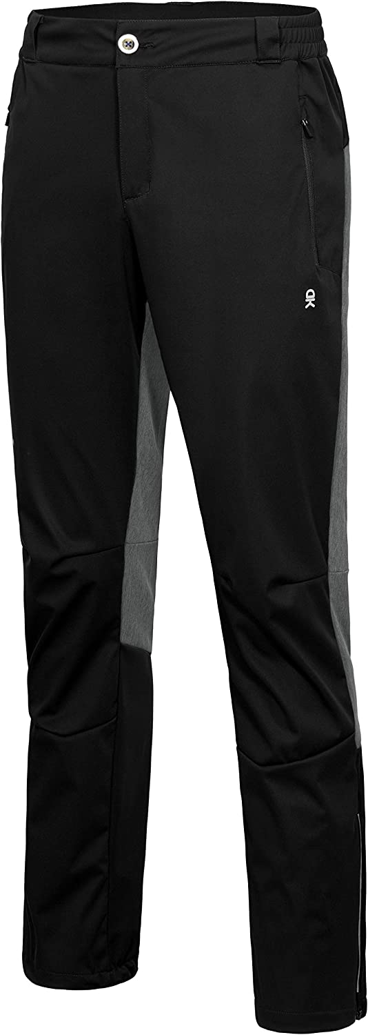 Little Donkey Andy Men's Windproof Softshell Hiking Pants Lightweight Water Resistant Pants for Camping, Outdoors