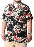 [ルーシャット] 大きいサイズ メンズ シャツ アロハシャツ レーヨン 和柄