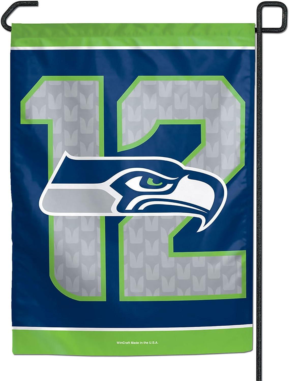 Seattle Seahawks 12th Man Garden Flag 11 x 15 inches