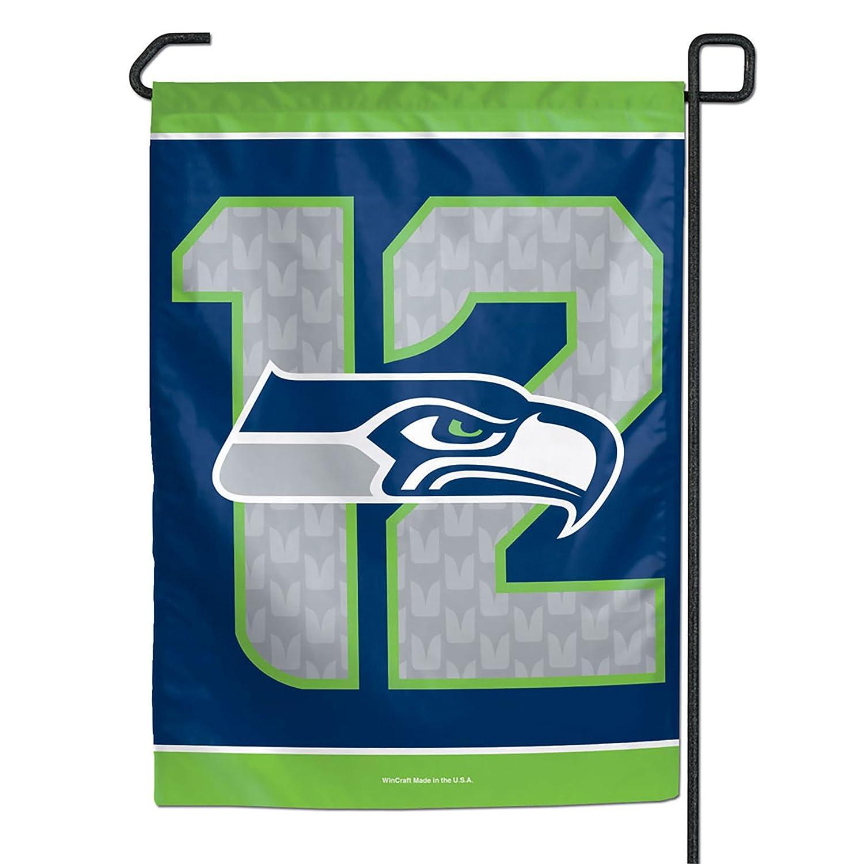 Seattle Seahawks 12th Man Garden Flag 11 x 15 inches Wincraft 38224014