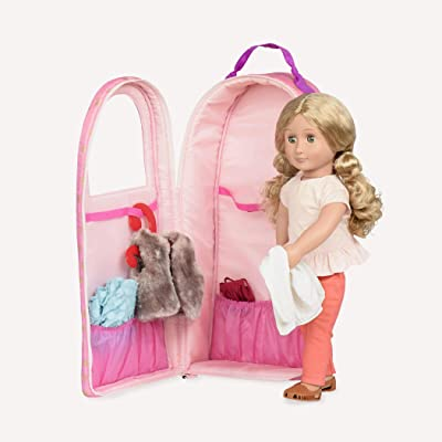 "Our Generation by Battat- Going My Way Doll Carrier- Gold Stars- Carrying Case for 18"" Dolls- Toys & Accessories for Girls 3 Years & Up: Toys & Games"