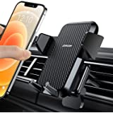 【Super Sturdy 】 Car Phone Mount【1s Release】 Phone Car Holder for Air Vent Reliable iPhone Car Mount by One-Hand Easy…