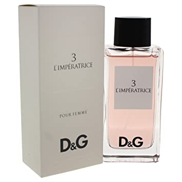 3 L IMPERATRICE pour Femme EDT Spray By Dolce   Gabbana 100 ml   Amazon.co.uk  Beauty 984baebb988a