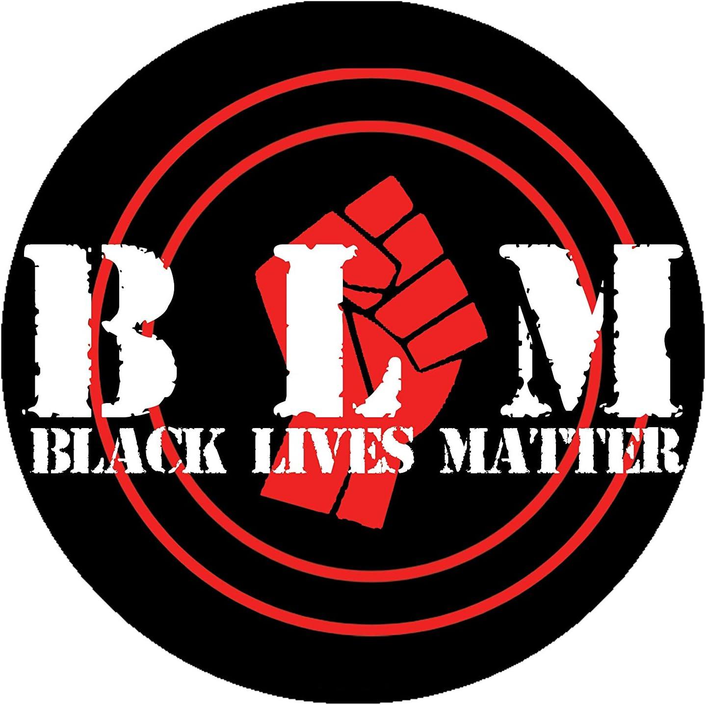 circulor Black Lives Matter creative self-adhesive car stickers glass window PVC stickers