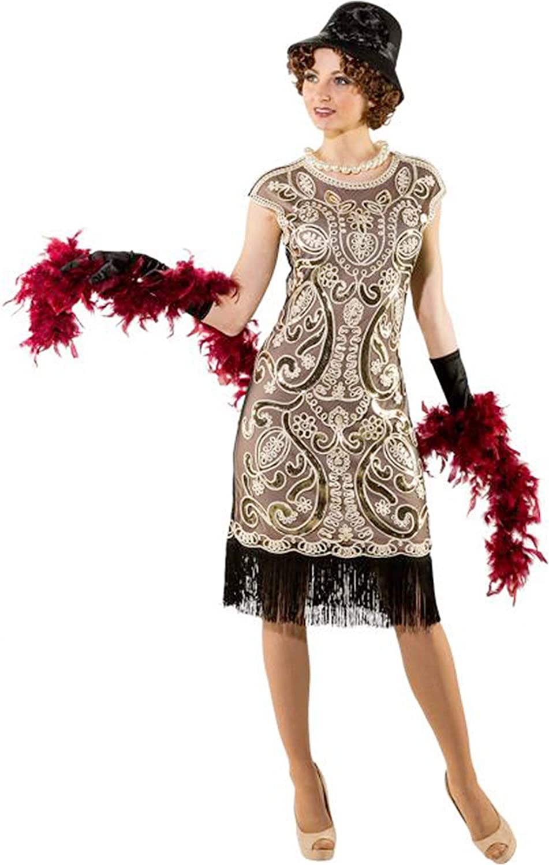 ORLOB - Disfraz Charleston años 20 - (0000SM): Orlob: Amazon.es ...