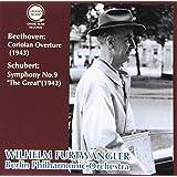 シューベルト : 交響曲第9番「ザ・グレート」 & ベートーヴェン : 「コリオラン」序曲 / フルトヴェングラー & ベルリン・フィル (Schubert: Symphony No.9 & Beethoven: Coriolan Overture / Furtwangler & BPO) [CD] [国内プレス] [日本語帯解説付]