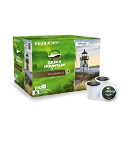 Green Mountain Coffee Nantucket Blend, K-Cup for Keurig Brewers, 100 Count