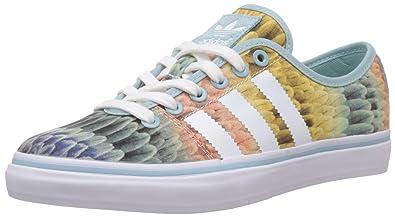 24444b8667cc adidas Originals Women s Adria Lo W Clear Green and White Gore-Tex Sneakers  - 7