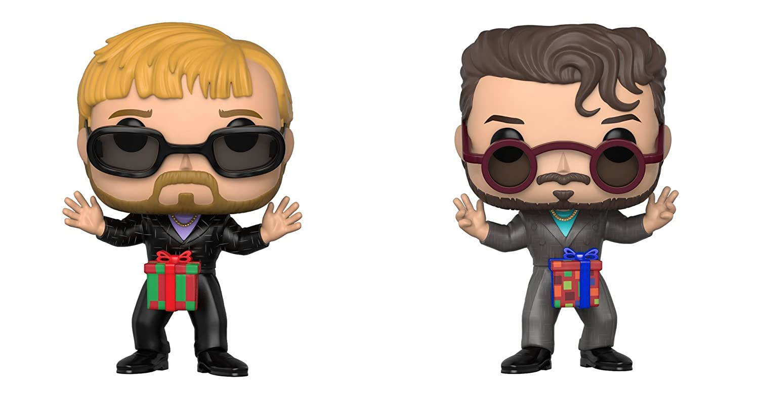 Funko POP TV Saturday Night Live Dick in a Box 2 Pack Collectible Figure Multicolor