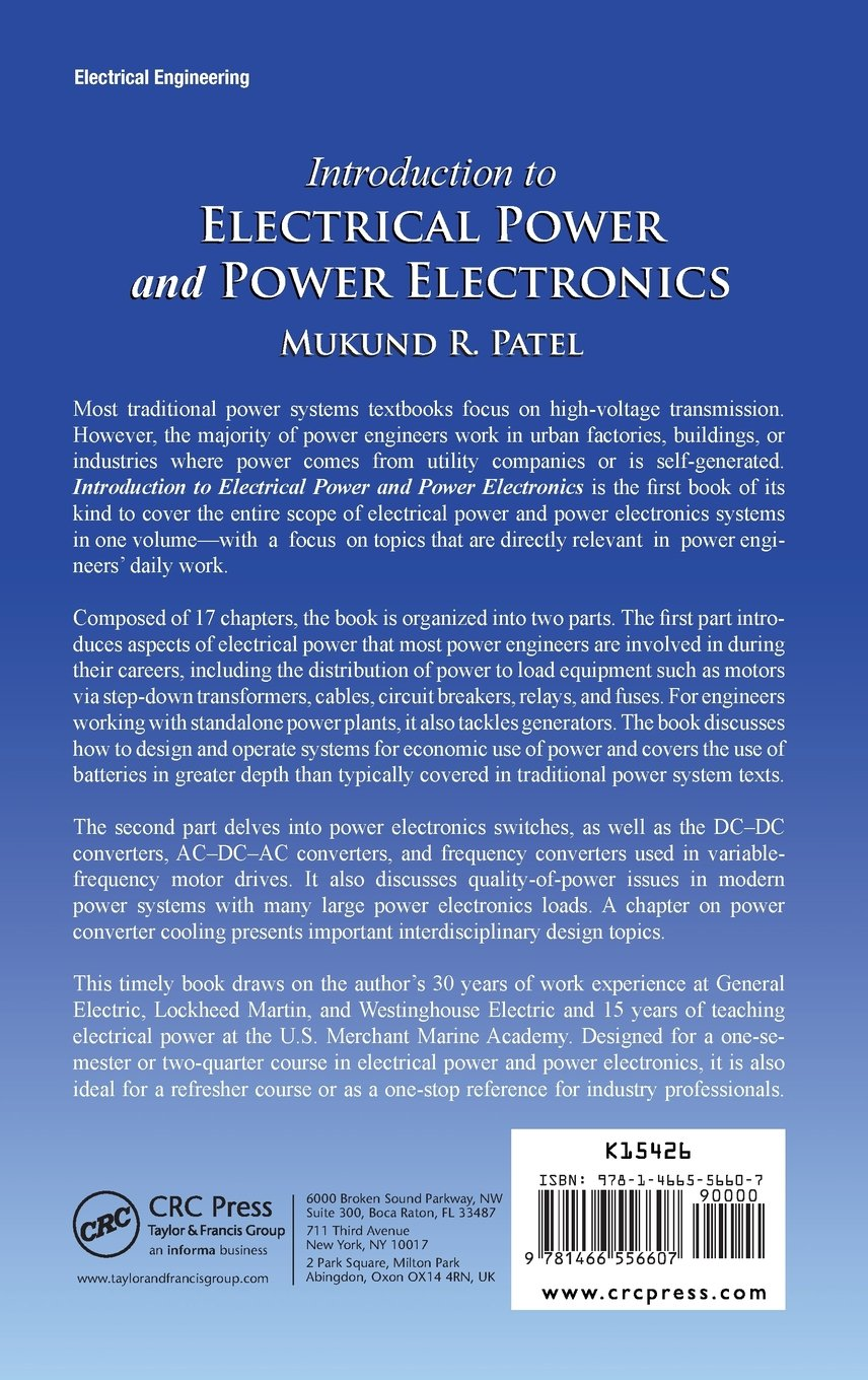 Guide Introduction to Electrical Power and Power Electronics