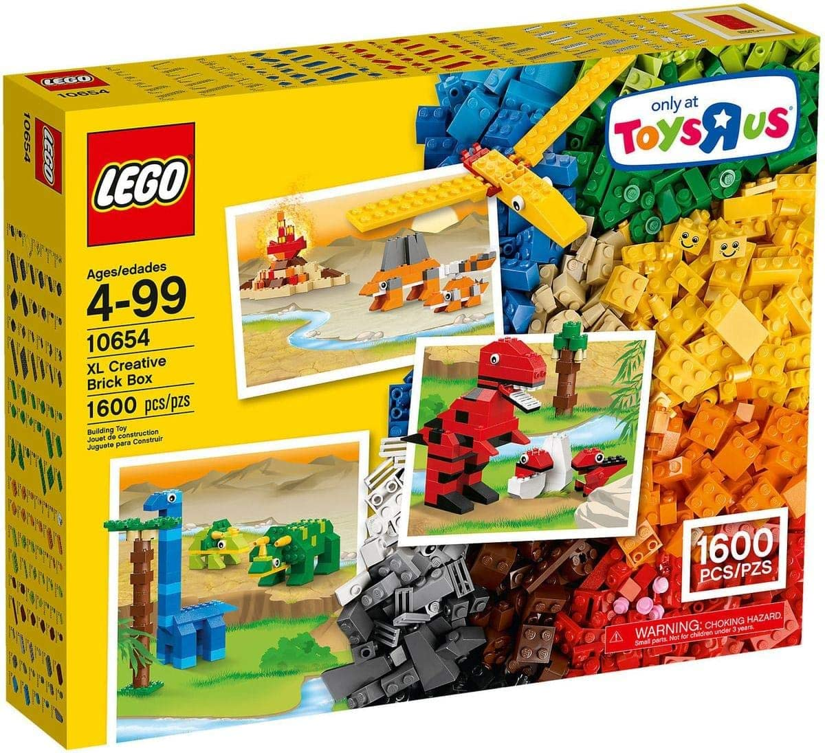 LEGO Classic Extra Large Creative Brick Box (10654): Amazon.es: Juguetes y juegos