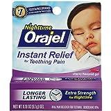 Orajel Baby Nighttime Formula Teething Pain Relief Gel - 0.18 oz (Pack of 2)