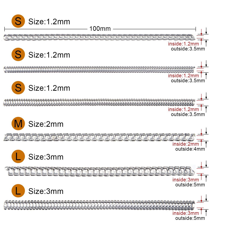 LUTER 37 piezas Anillo invisible Ajustadores de tama/ño Inserto en espiral Ajustador de tira invisible Perfecto para Cualquier tama/ño suelto Anillos con Pa/ño para pulir 3 estilos