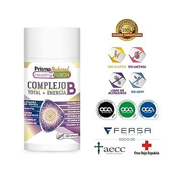 Potente y Completo Complejo B - Vitaminas B1, B2, B3, B5, B6, B9 y B12 – Fortalece el Sistema Inmunológico – Aporta Energía – Protege el Sistema ...