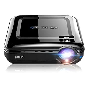 Proyector, ocday 1080P FHD vídeo LED Proyector LCD 3200 lúmenes ...