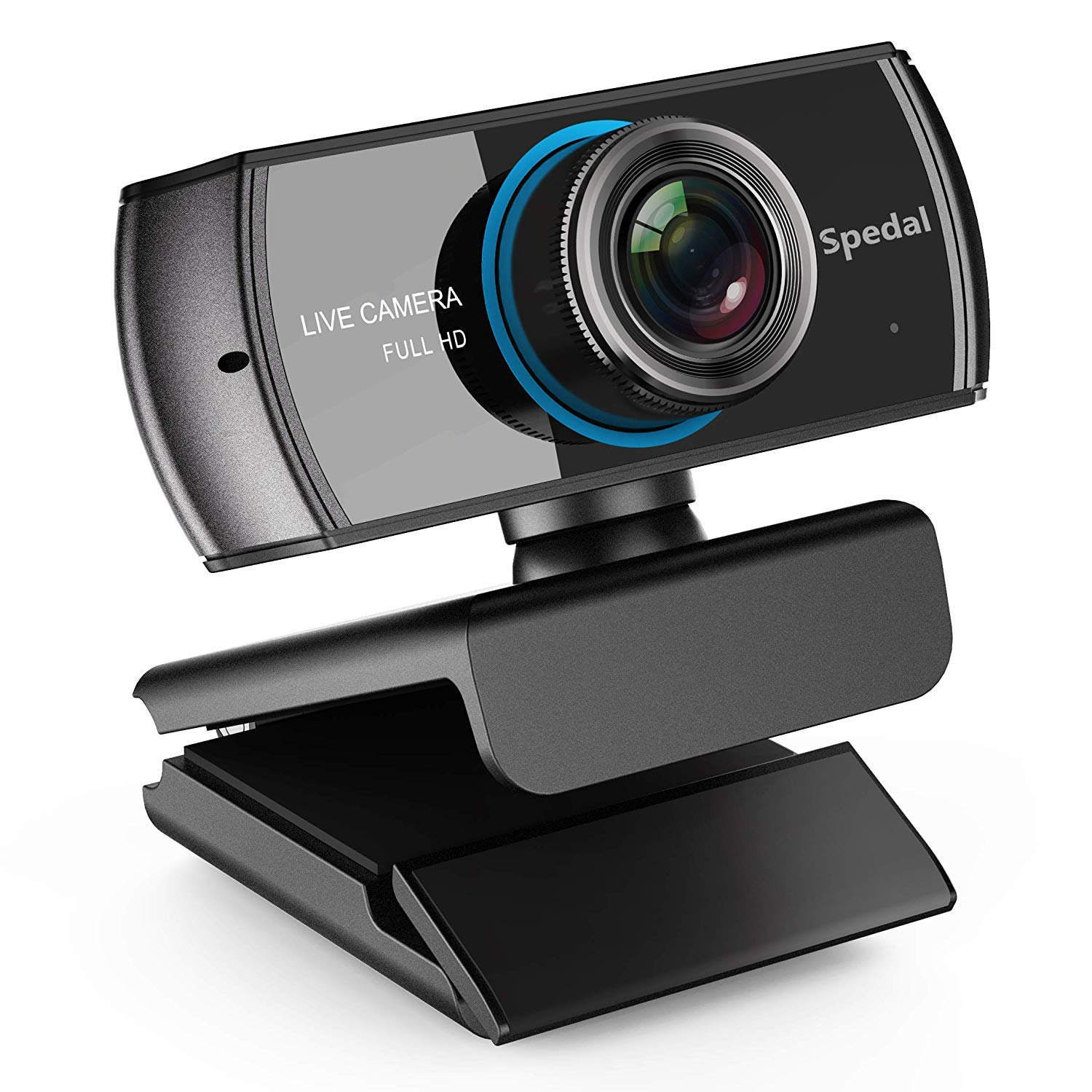 Spedal Full HD Webcam 1536p, Beauty Live Streaming Webcam, Computer Laptop Camera for OBS XSplit Skype Facebook, Compatible for Mac OS Windows 10/8/7