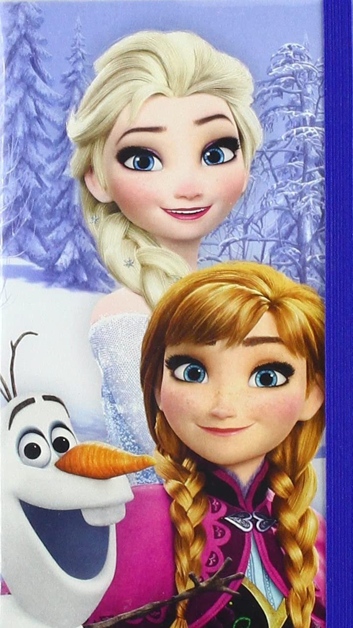 ディズニー 『アナと雪の女王』オラフ,アナ,エルサ HD(720×1280)壁紙画像