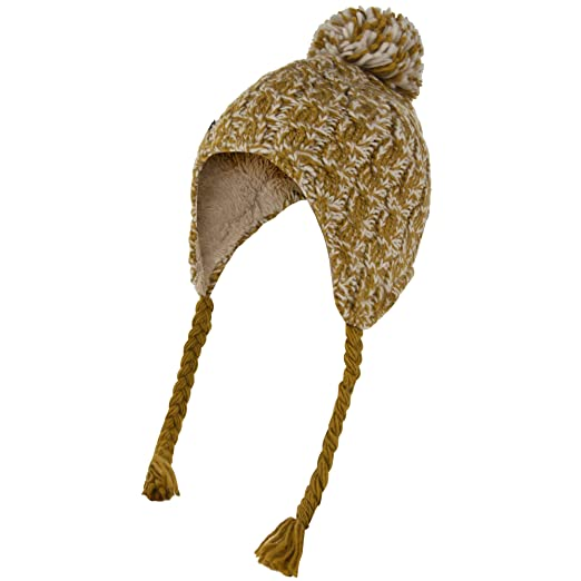 6d9295714a98db Regatta Great Outdoors Womens/Ladies Whirlwind Knitted Peru Hat (One Size)  (Gold