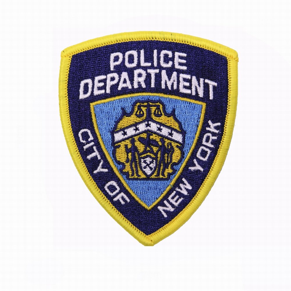 FOSCO /Écusson New York Police Department NYPD Thermocollant