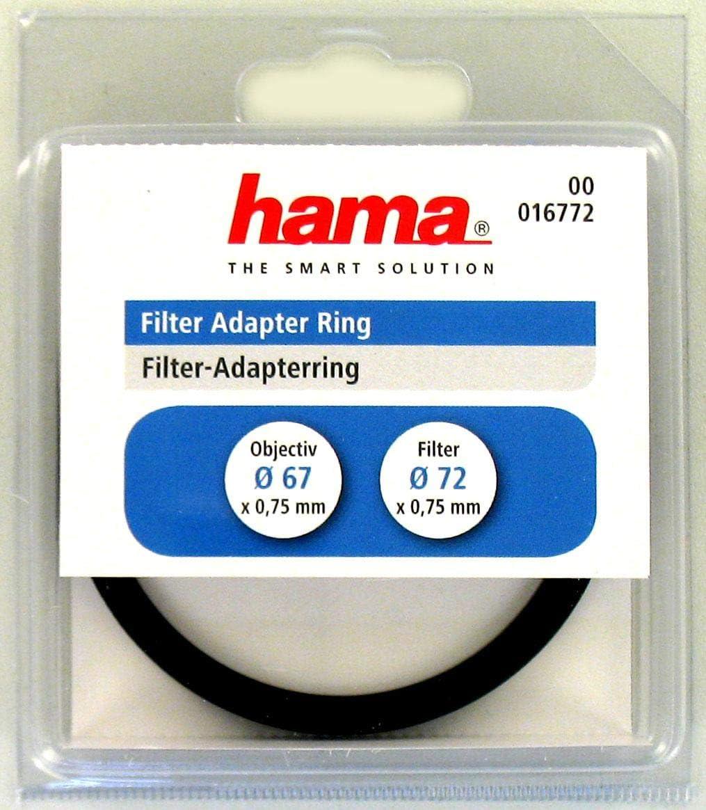 Hama Filter-Adapter-Ring Objektiv 72,0//Filter 77,0 mm