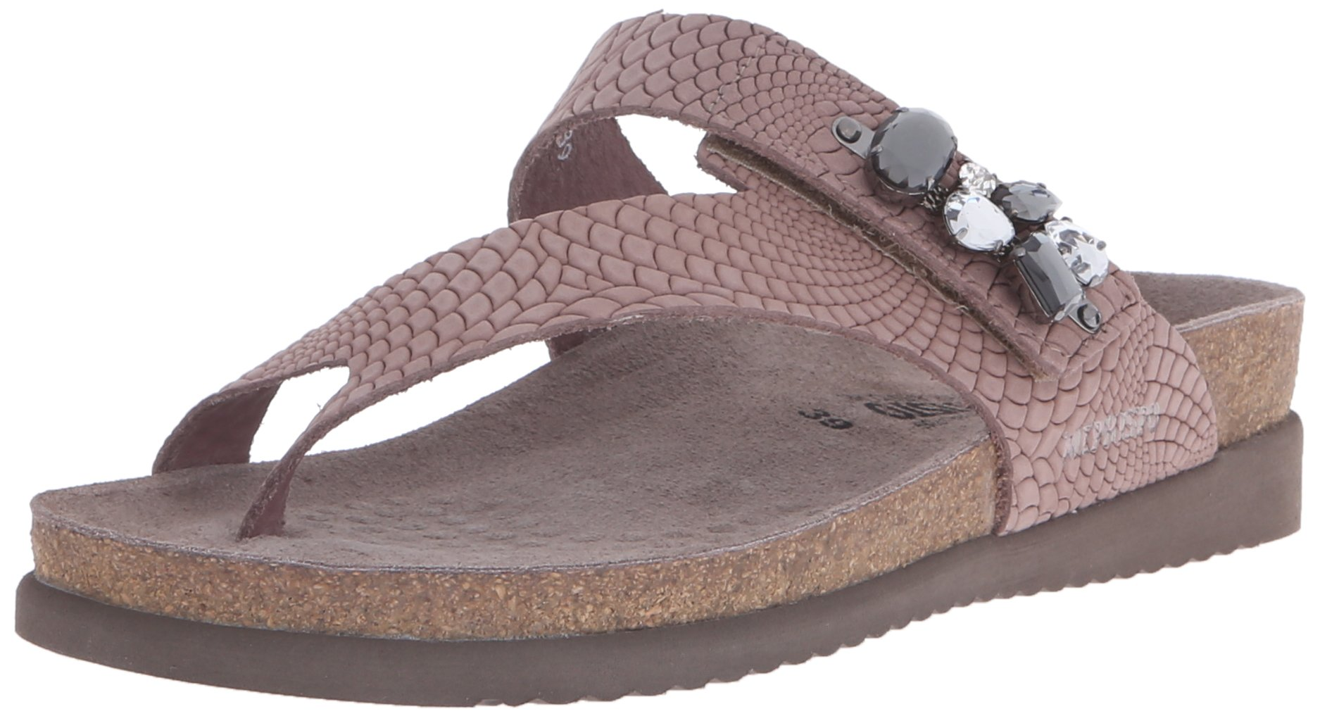 Mephisto Women's Halice Flip Flop, Old Pink Rio, 9 M US by Mephisto (Image #1)