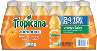 product image for Tropicana 100 % Orange Juice (Pack of 24) 10 Fl Oz, 240 Fluid Ounce