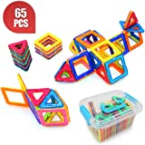 Ranphy Magnetic Building Blocks Toys 65 Piece Similar Building Toys Playing Magnetic Toy Bricks