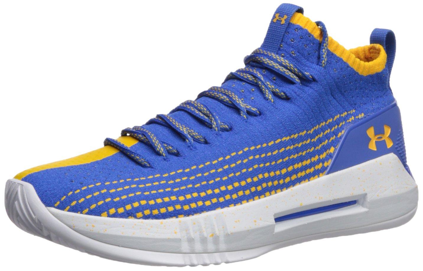 Under Armour Men's Heat Seeker Basketball Shoe B074ZC5QBC 9.5 M US|Powderkeg Blue (401)/White