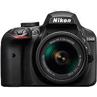 Nikon Bundle D3400 AF-P DX 18-55mm f/3.5-5.6G con SD Card incluida