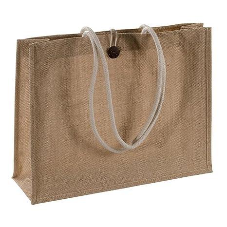 Amazon.com: compra Yute Natural bolsa Bolsas con asas ...
