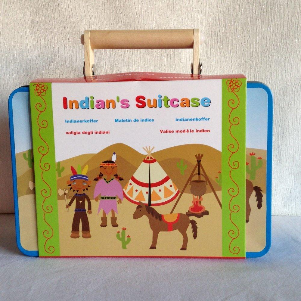 保障できる MAGNI MAGNI INDIANはすごいスーツケースに入っています。木のおもちゃ B01LVYJXT2 B01LVYJXT2, アヅマムラ:d17996ef --- a0267596.xsph.ru