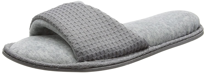 Dearfoams Slide, Chaussons Mules Grey Femme Grey (Medium Dearfoams Femme Grey) 1f237c8 - boatplans.space