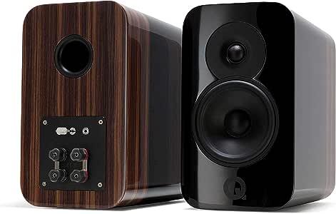 Q Acoustics Concept 300 Bookshelf Speaker Pair (Black)