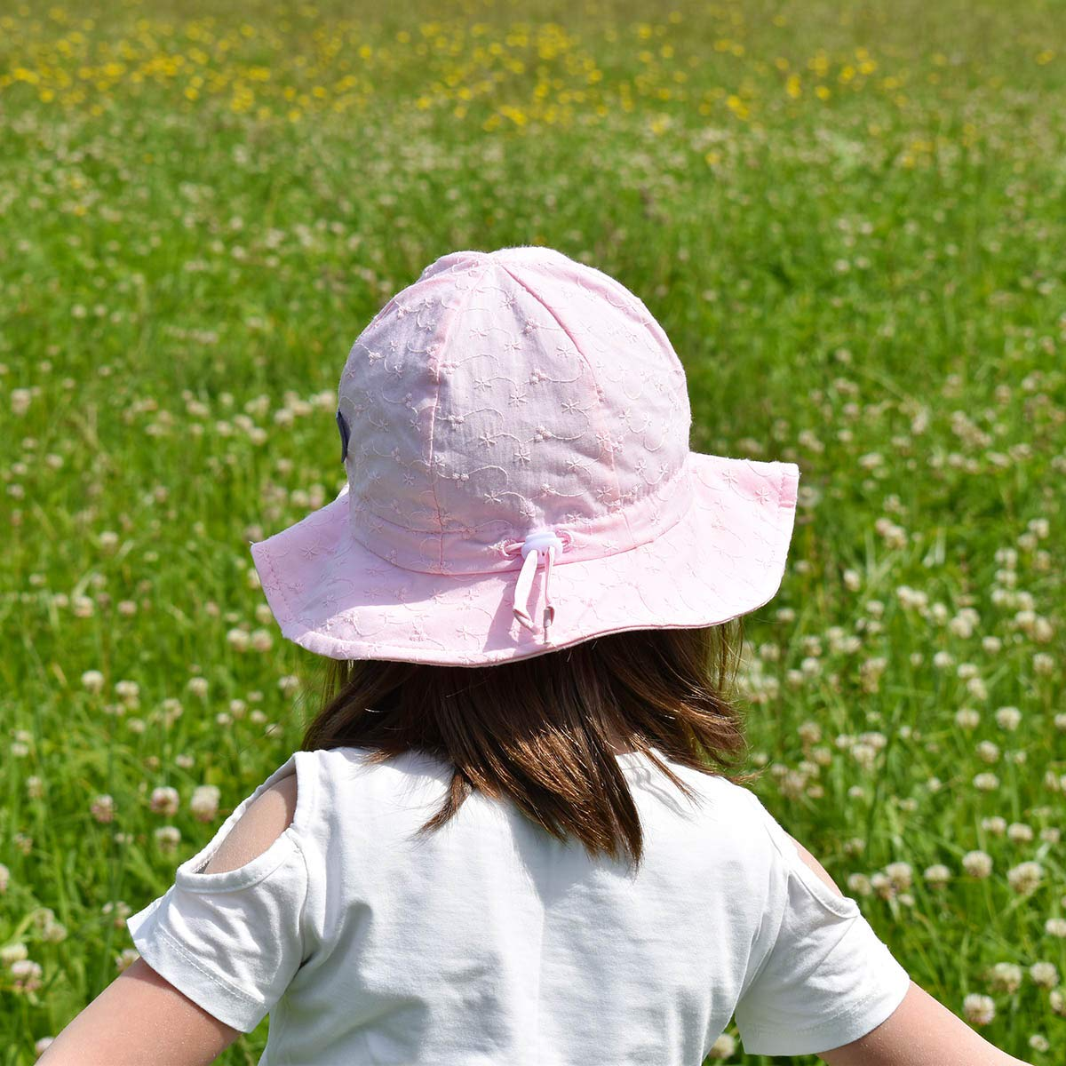 Jan /& Jul Girls Wide Brim UV Protection Sun-Hat Adjustable with Strap for Baby and Toddler