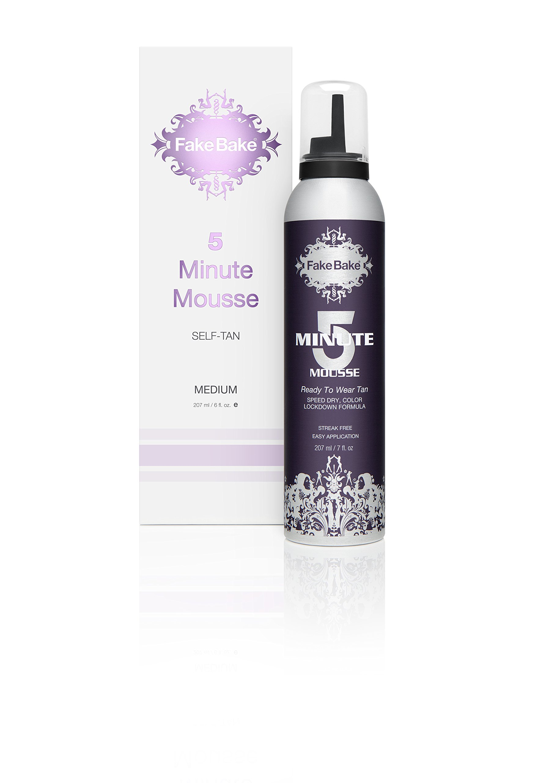 Fake Bake 5 Minute Mousse Ready To Wear Tan, 7 Ounce